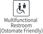 Multifunctional Restroom(Ostomate Friendly)